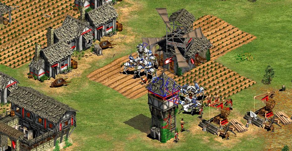 knights raid a trusher