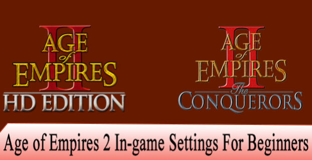Age of Empires 2 Ingame Settings For Beginners