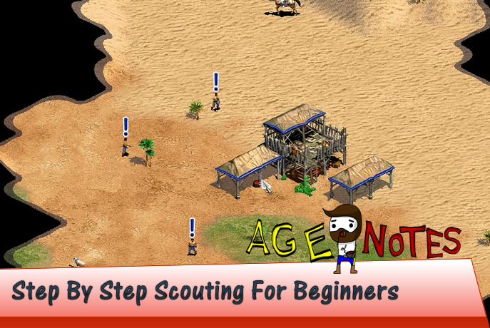Step By Step Scouting For Beginners in Age of Empires 2