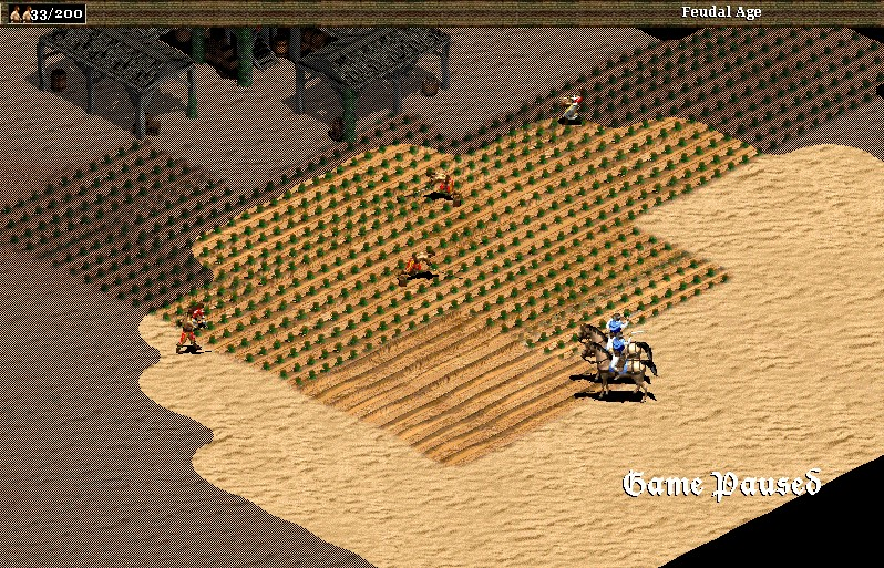 laming farms in age of empires 2