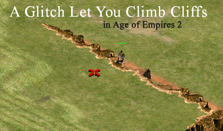 A Glitch Let You Climb Cliffs in Age of Empires 2