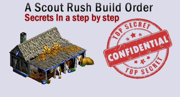 A Scout Rush Build Order and Secrets In a step by step - Age