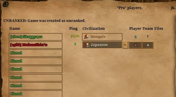 Multiplayer lag in Age of Empires 2 hd