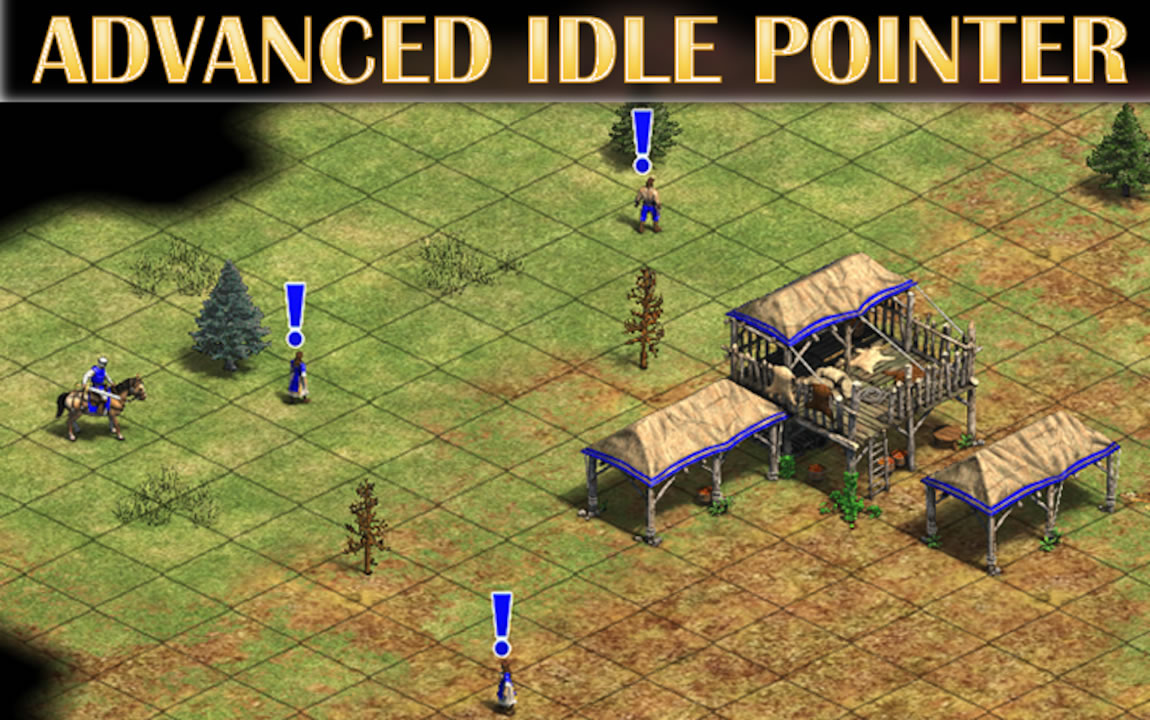 Advanced Idle Pointer Larger Pointers