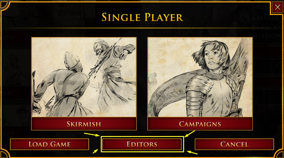 map editor age of empires 2 definitive edition