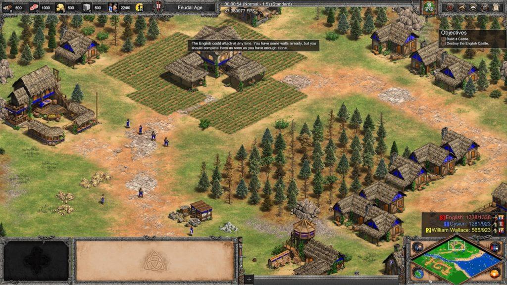 small trees age of empires 2 DE