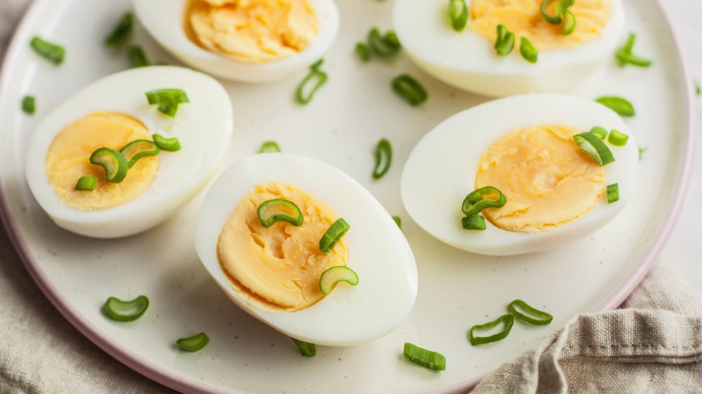 Hard Boiled Eggs Best Source of Protein