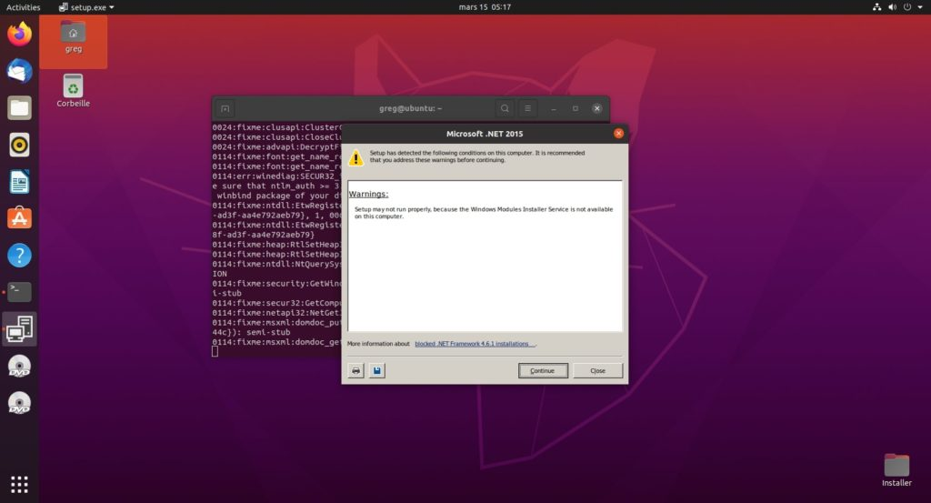 14. .Net 4.6.1 - Accept license and continue