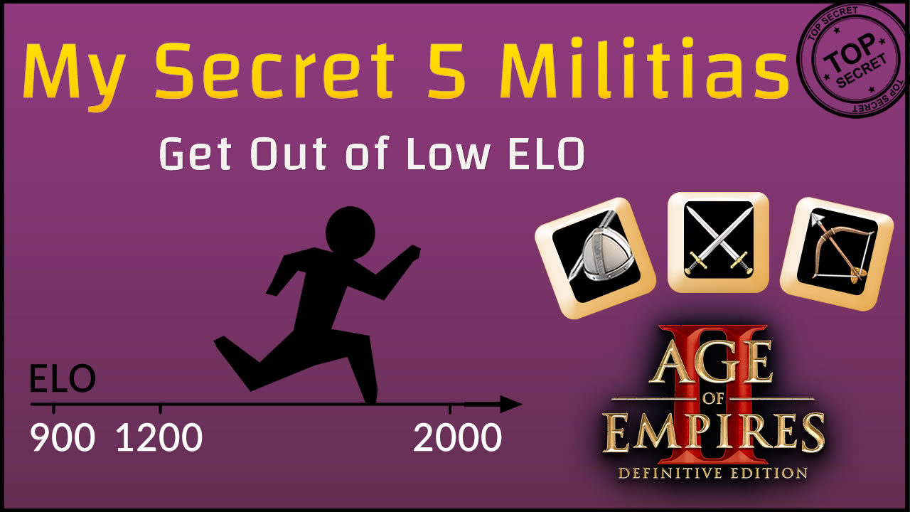 My Secret 5 Militias Drush Build Order To Escape Low ELO