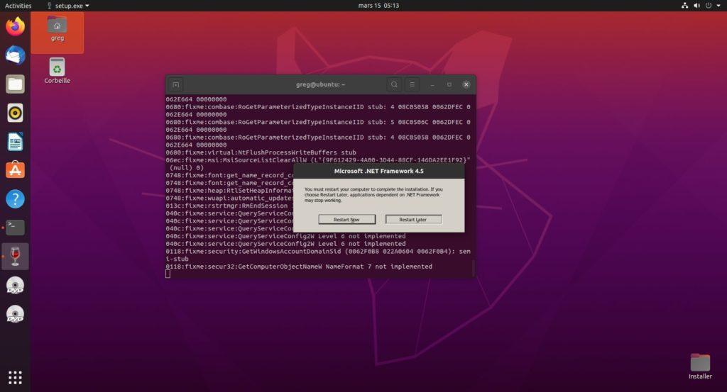 9. .Net 4.5 - Do not reboot